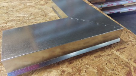 Coping Cap Mitered Corner Perimeter Edge Flashing
