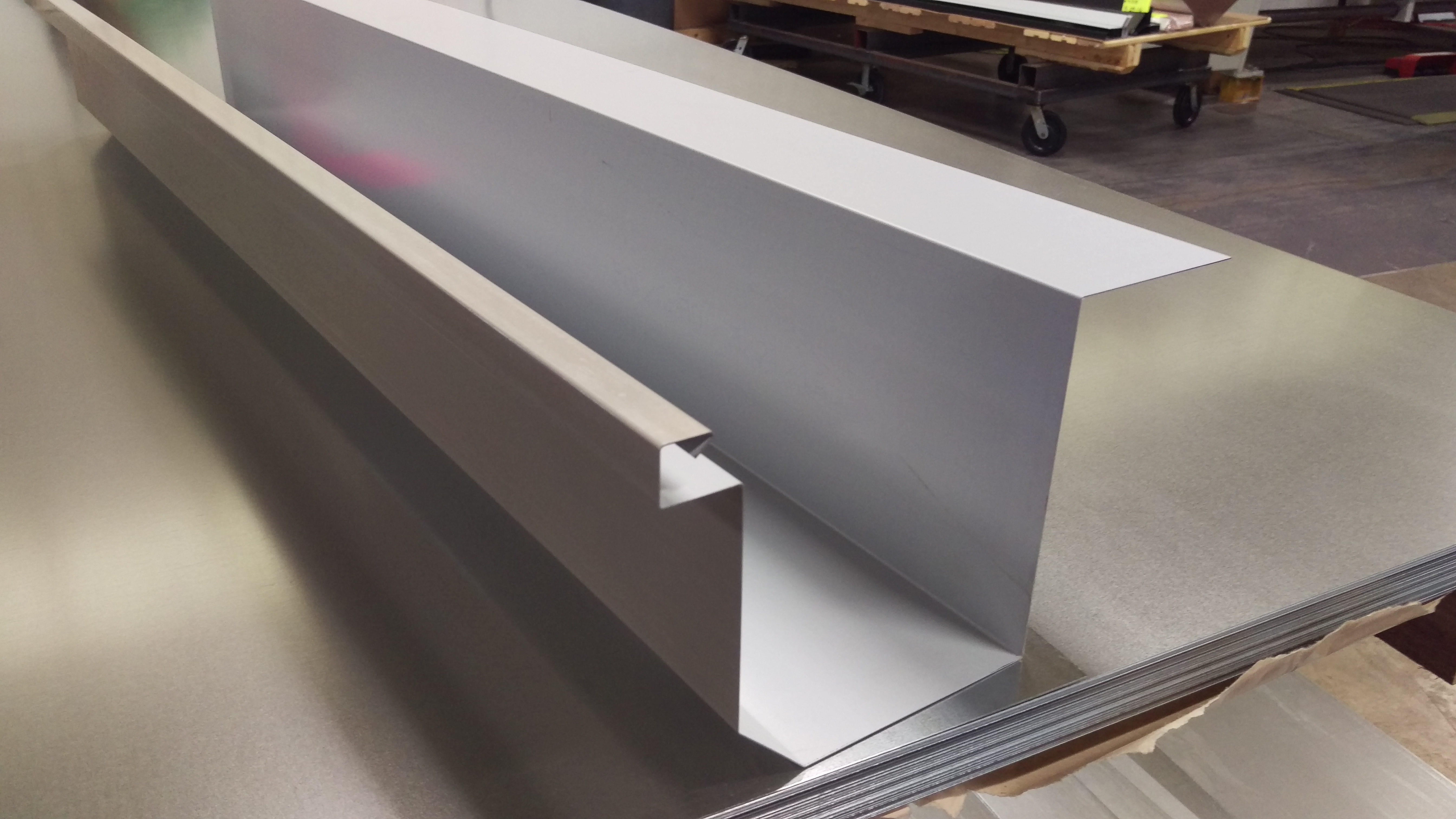 Low Slope Metal Roofing Materials Sheet Metal Supply