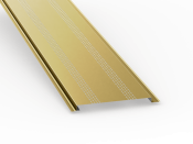 low slope roof soffit panels