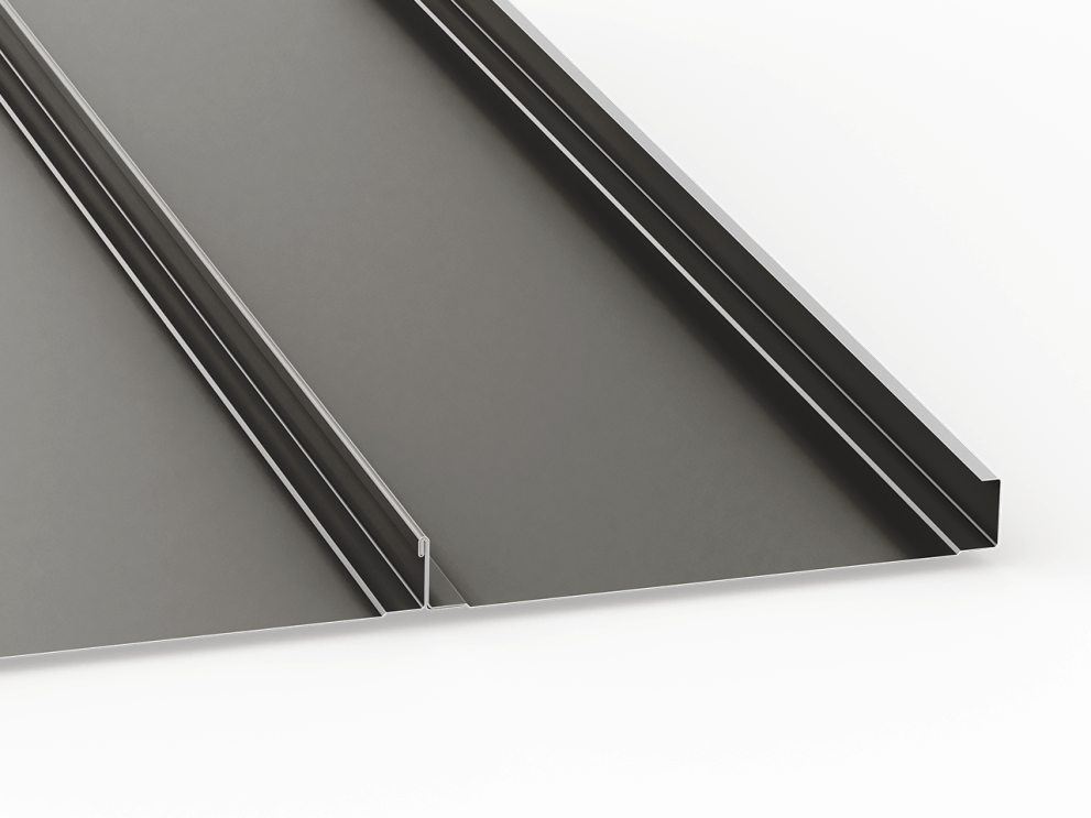 standing seam panel 2in mech lock seamed