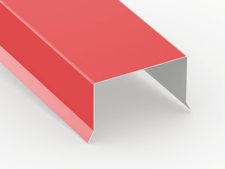 Perimeter Edge Flashing Low Slope Roof Sheet Metal Supply