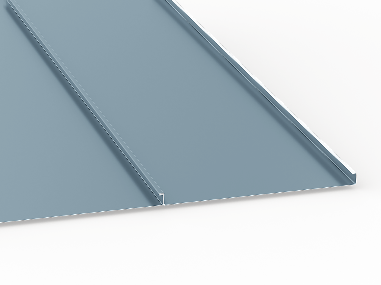 Standing Seam Panels Sheet Metal Supply Wall Cladding