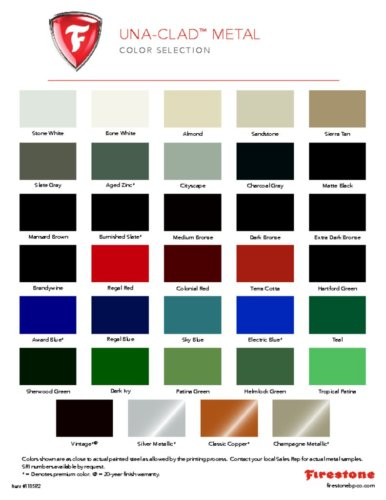 Firestone Color Chart